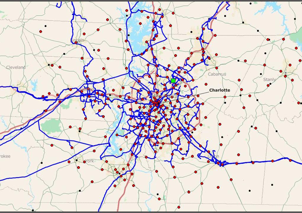 Telecom optical fiber GIS mapping using Mapinfo