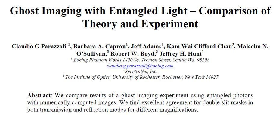 Quantum Entanglement photonics paper