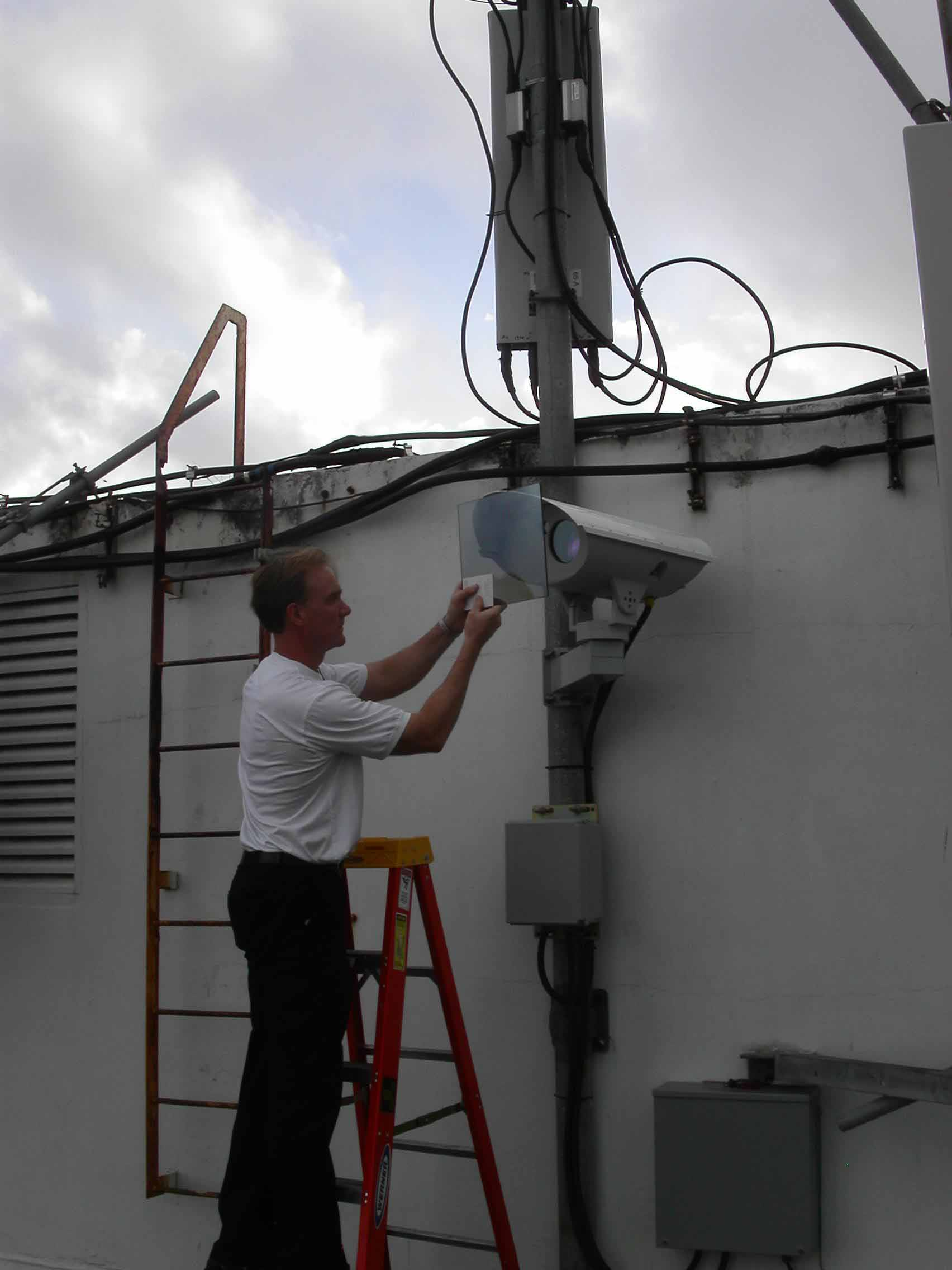 FSO Installation in Puerto Rico